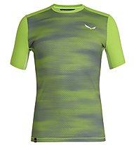 Salewa Pedroc Print Dry - T-shirt trekking - uomo, Green