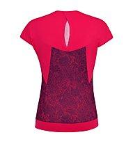 Salewa Pedroc Print Dry - T-Shirt Bergsport - Damen, Pink