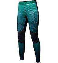 Salewa Pedroc Print Dry - pantaloni lunghi trail running - donna, Green