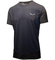 Salewa Pedroc Printed - T-shirt trekking - uomo, Grey