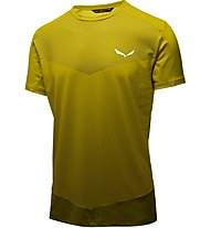 Salewa Pedroc Printed - T-shirt trekking - uomo, Yellow