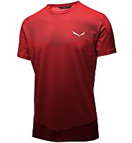 Salewa Pedroc Printed - T-shirt trekking - uomo, Red