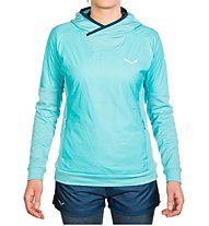 Salewa Pedroc Ptc Alpha - Kapuzenpullover Trailrunning - Damen, Light Blue