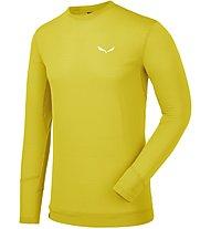 Salewa Pedroc Ptc - maglia a maniche lunghe trekking - uomo, Yellow