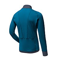 Salewa Pedroc PTC - giacca in pile - uomo, Blue/Grey