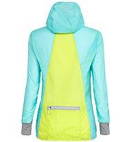 Salewa Pedroc - Windjacke Bergsport - Damen, Light Blue/Yellow