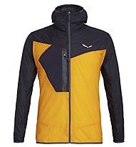 Salewa Pedroc Wind - giacca a vento trekking - uomo, Navy/Orange