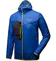 Salewa Pedroc Wind - giacca a vento trekking - uomo, Light Blue