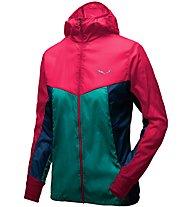 Salewa Pedroc Wind - giacca a vento - donna, Pink