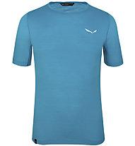 Salewa Pedroc Wool - Trekking T-Shirt - Herren, Light Blue