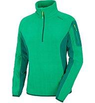 Salewa Plose 2 - Fleecepullover mit Reißverschluss - Damen, Green