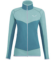 Salewa Plose 5 Pl - giacca in pile - donna, Light Blue