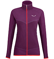 Salewa Plose 5 Pl - giacca in pile - donna, Violet/Red