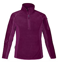 Salewa Plose PL W Jacket Felpa in pile, Grape (Dark Pink)