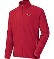 Salewa Plose - giacca in pile trekking - uomo, Red