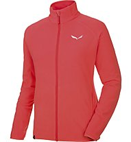 Salewa Plose S.A. - giacca in pile trekking - donna, Red