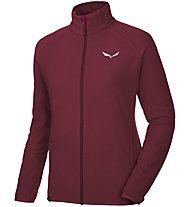 Salewa Plose S.A. Pl - Fleecejacke Wandern - Damen, Dark Red
