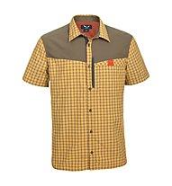 Salewa Pordoi DRY - camicia a maniche corte trekking - uomo, Yellow