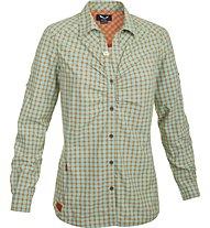 Salewa Pordoi Dry'ton - Camicia a maniche lunghe trekking - donna, Green