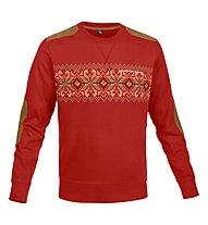 Salewa Pradount Shirt Langarm, Fire Brick