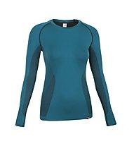 Salewa Prolix Dry'ton - Maglietta tecnica a maniche lunghe alpinismo - donna, Teal
