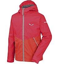 Salewa Puez 2 - giacca hardshell - bambino, Red