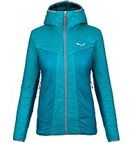 Salewa Puez 2 Awp Hooded - giacca trekking - donna, Light Blue