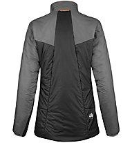 Salewa Puez 2 Awp - giacca trekking - donna, Dark Grey/Black/Red