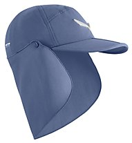 Salewa Puez 2 Det.Neck Gait - cappellino con visiera, Blue
