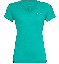 Salewa Puez 2 Dry - T-shirt trekking - donna, Light Green