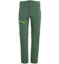 Salewa Puez 2 Dst M 2/1 - Wanderhose lang - Herren, Green/Yellow