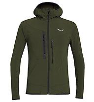 Salewa Puez 2 Durastretch - giacca softshell con cappuccio - uomo, Green