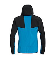 Salewa Puez 2 Durastretch - Softshelljacke mit Kapuze - Herren, Black/Blue
