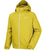 Salewa Puez 2 -  giacca hardshell - bambino, Yellow
