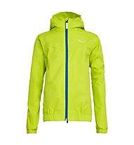 Salewa Puez 2 -  giacca hardshell - bambino, Light Green