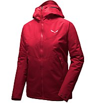 Salewa Puez 2 PTX 3L - giacca hardshell trekking - donna, Red