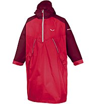 Salewa Puez 2 - giacca antipioggia - bambino, Red