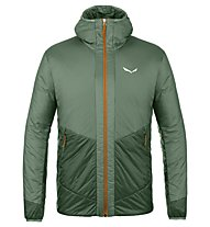 Salewa Puez 2 Twc Hooded - giacca trekking - uomo, Dark Green