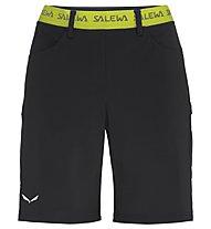 Salewa Puez 3 Dst - pantaloni corti da montagna - donna, Black