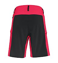 Salewa Puez 3 Dst - kurze Bergsporthose - Damen, Black/Red