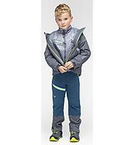 Salewa Puez 3 in 1 PTX/AWP - giacca doppia - bambino, Grey/Green