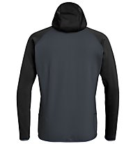 Salewa Puez 3 - giacca in pile - uomo, Black/Grey