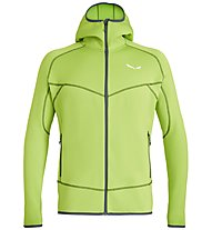 Salewa Puez 3 - giacca in pile - uomo, Light Green