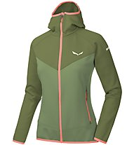 Salewa Puez 3 - giacca in pile - donna, Green