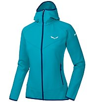 Salewa PUEZ 3 PL - Fleecejacke mit Kapuze - Damen, Light Blue