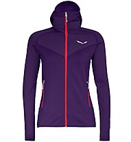 Salewa Puez 3 - giacca in pile - donna, Violet/Red