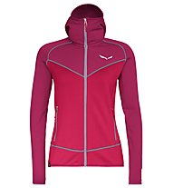 Salewa Puez 3 - giacca in pile - donna, Rose Red