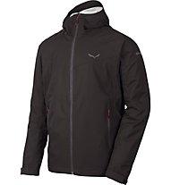 Salewa Puez (Aqua 3) - giacca a vento trekking - uomo, Black