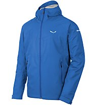 Salewa Puez (Aqua 3) Powertex - Hardshelljacke mit Kapuze - Herren, Light Blue