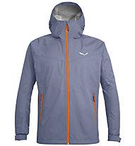 Salewa Puez (Aqua 3) - giacca a vento - uomo, Grey/Orange